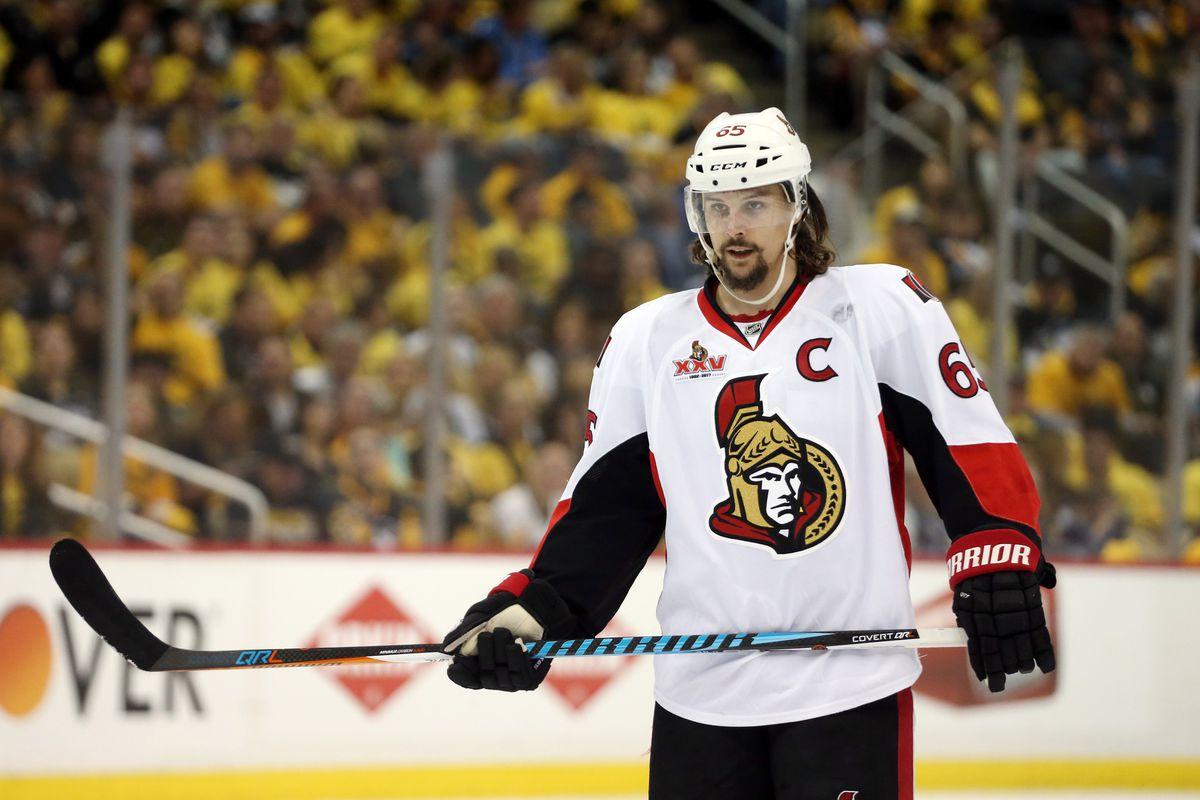 NHL: Stanley Cup Playoffs-Ottawa Senators at Pittsburgh Penguins
