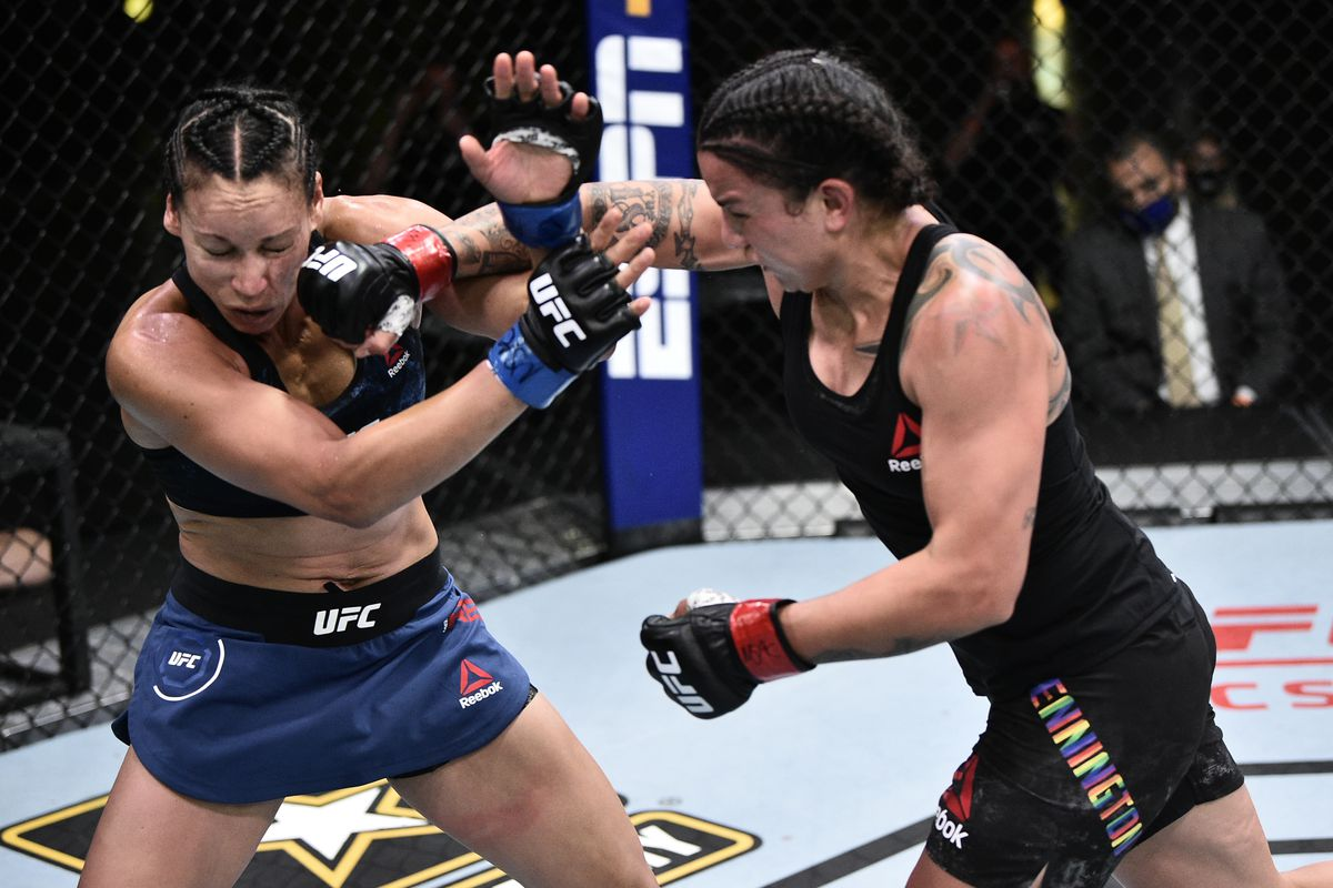 UFC on ESPN 11 results: Raquel Pennington punishes Marion Reneau ...