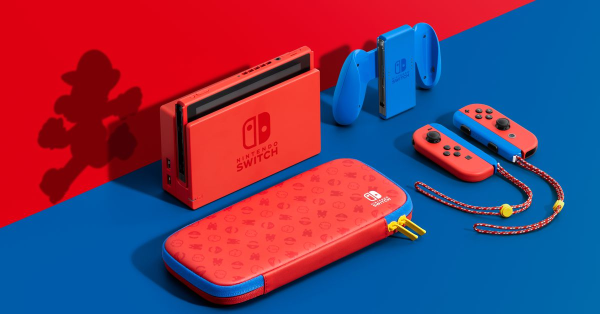 Super Mario 3D World will launch in February alongside a new Nintendo Switch color – The Verge