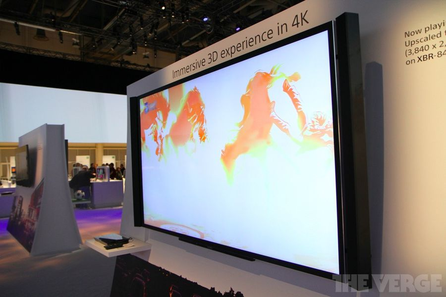 sony expands its 4k tv range with 55 and 65 inch models the verge. Black Bedroom Furniture Sets. Home Design Ideas