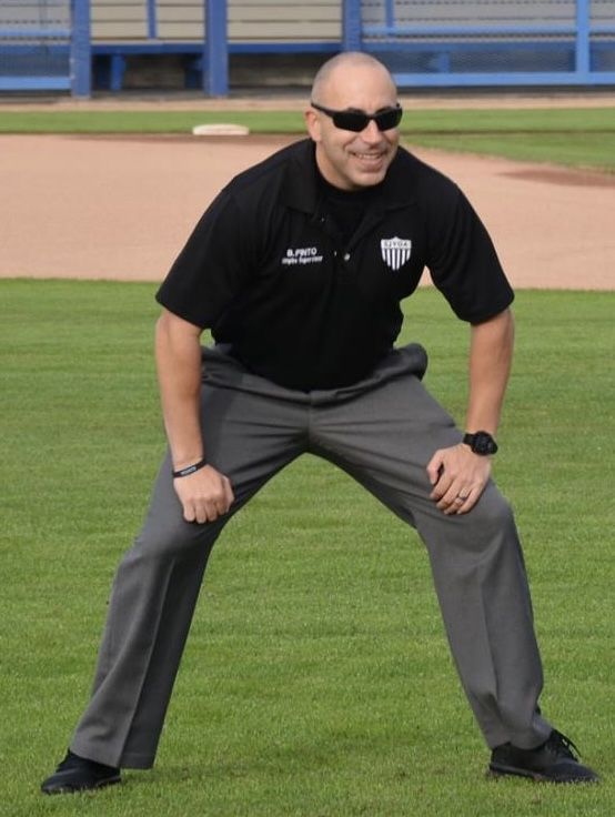 Bryan Pinto began officiating high school sports in Central California 11 years ago.