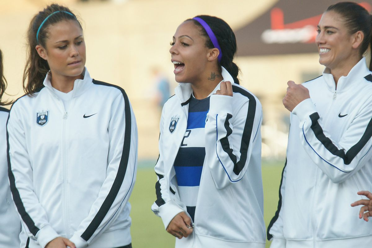 Sydney Leroux was part of a blockbuster trade yesterday