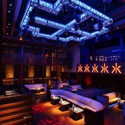 The pavillion at Hakkasan Nightclub.