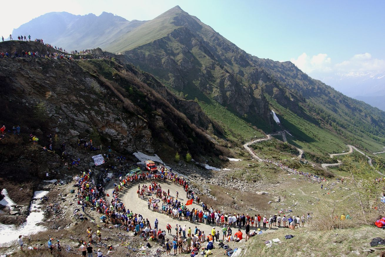 Cycling: Giro D'Italia / Tour Of Italy Stage 19