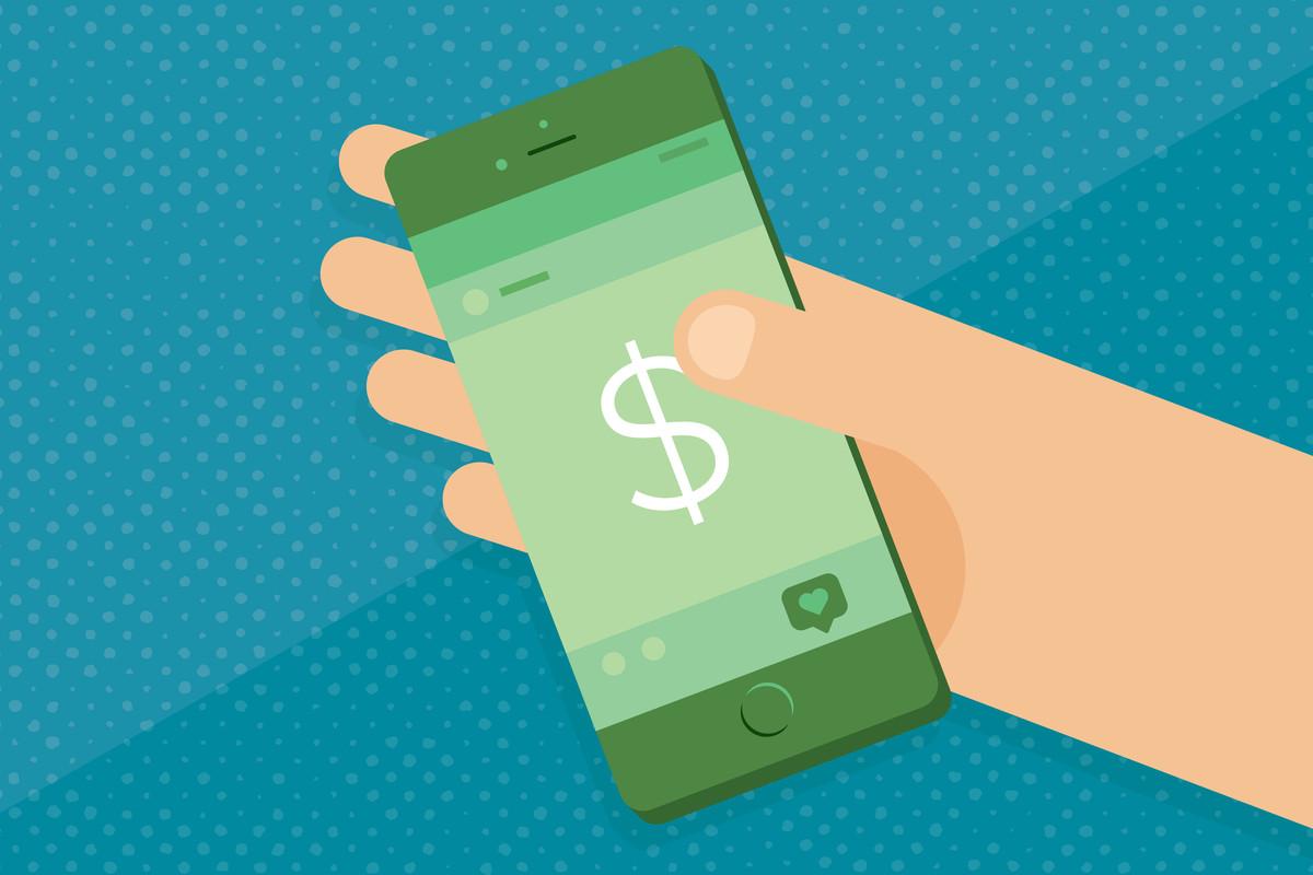 A financial phone app.