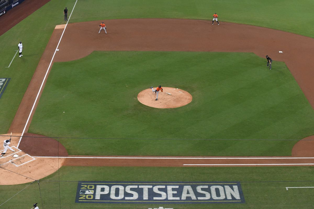 Tampa Bay Rays vs Houston Astros, 2020 American League Championship Series