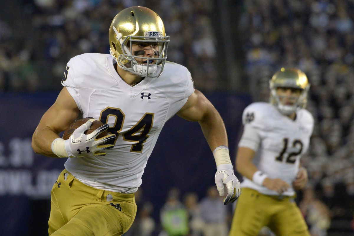 Notre Dame Football: Irish Eyes On The Future At Tight End ...