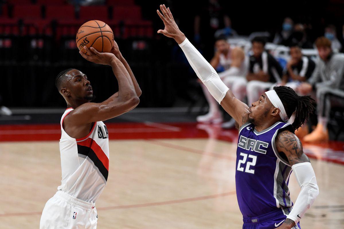 NBA: Preseason-Sacramento Kings at Portland Trail Blazers