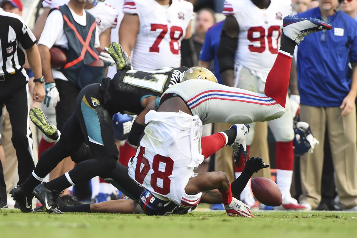 Larry Donnell's fumble cost the Giants a touchdown