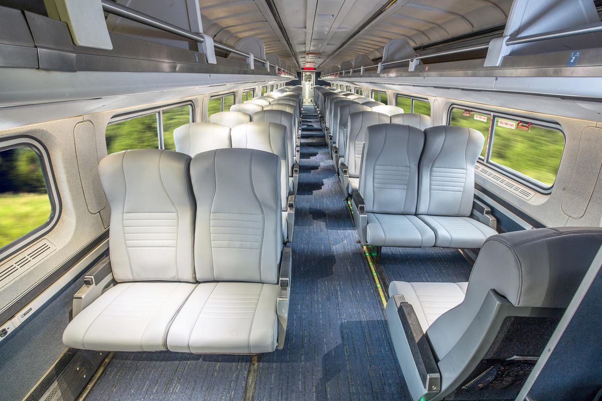 450 amtrak trains are getting an interior makeover curbed