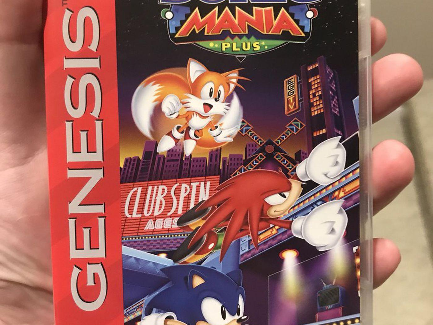 Sonic Mania Plus Has Reversible Sega Genesis Mega Drive Covers Polygon
