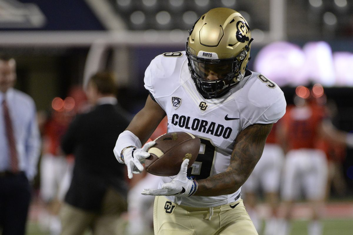 wholesale dealer 86946 692e7 Colorado Buffaloes S Tedric Thompson drafted by Seattle ...