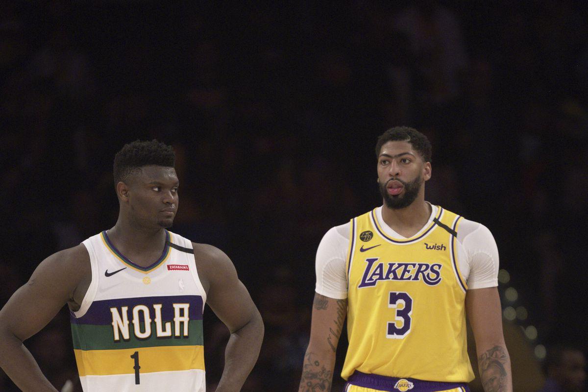Los Angeles Lakers vs New Orleans Pelicans