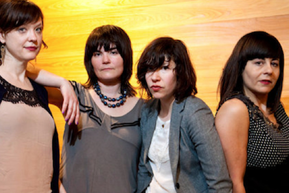 """Sure, Carrie Brownstein is wearing a blazer, but she just did a set with the ladies of Wild Flag. Street style can get wild at SXSW. Image via <a href=""""http://www.nytimes.com/2011/03/24/fashion/24sxsw.html?ref=fashion"""">NYT</a>."""