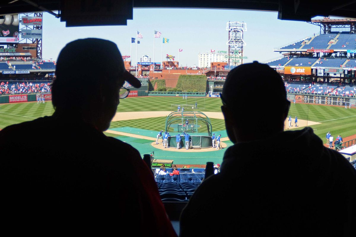 Many fans (particularly ball-hawks) like to watch batting practice before the game.
