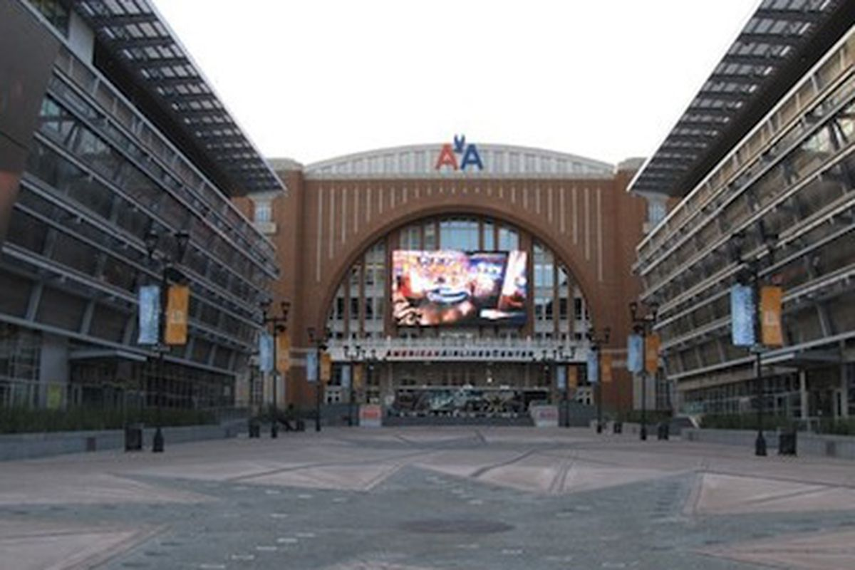 American Airlines Center.