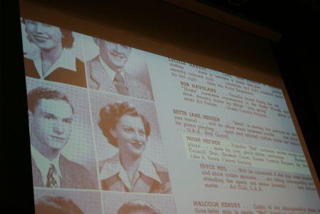 "<small><strong> Steinmetz grad Hugh Hefner already was nicknamed ""Hef"" when he attended the Chicago high school.   Steinmetz Star photo</strong></small>"