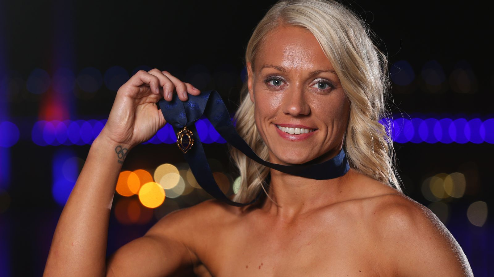 Out WNBA Player Erin Phillips Wins Aussie Rules Football