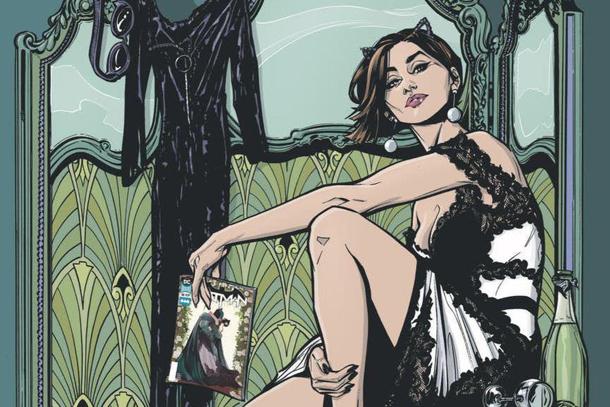 Announcement art from Catwoman #1, DC Comics (2018).
