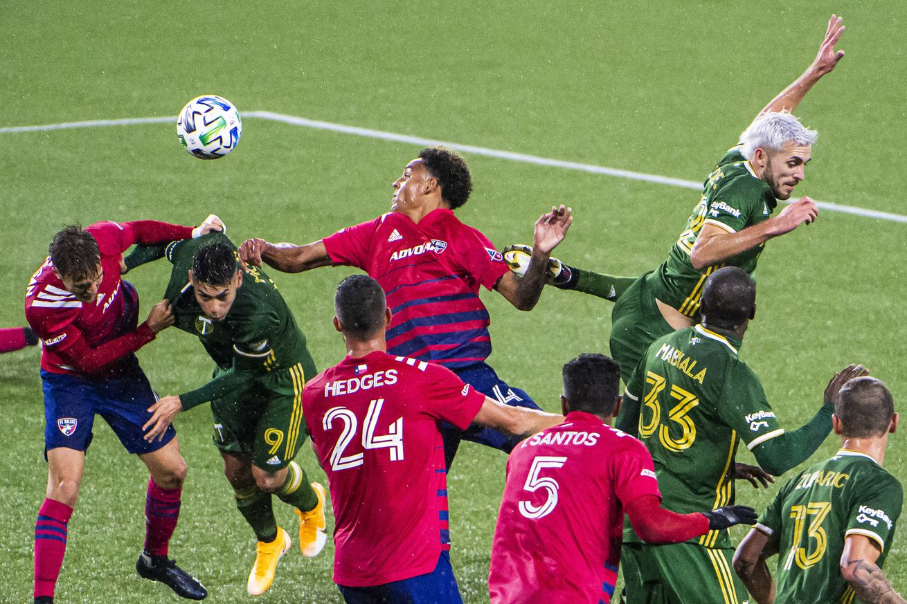 MLS: FC Dallas at Portland Timbers