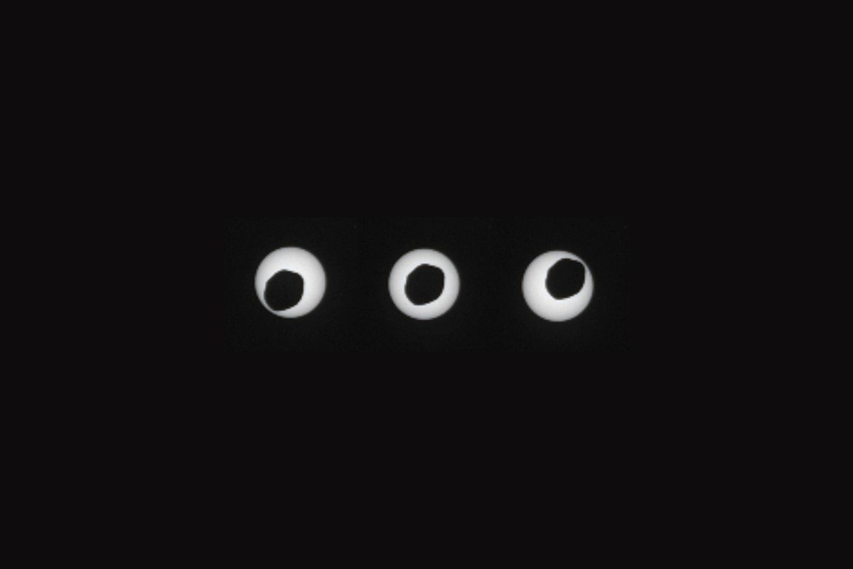 Mars'taki Güneş Tutulmalarının Muhteşem Videosu…