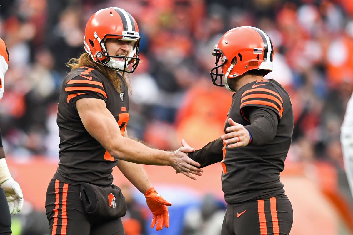 Cleveland Browns: Austin Seibert and Jamie Gillan earn rookie honors