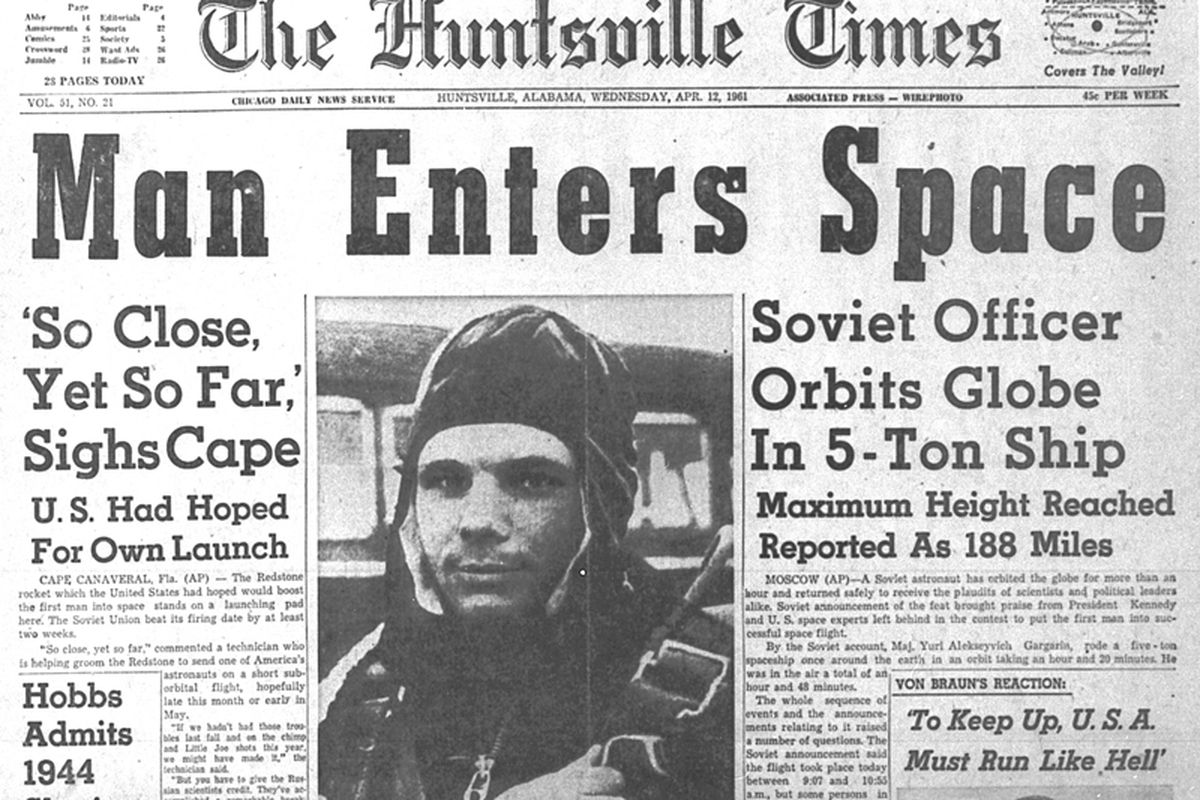 Image result for yuri gagarin is first man to fly in space