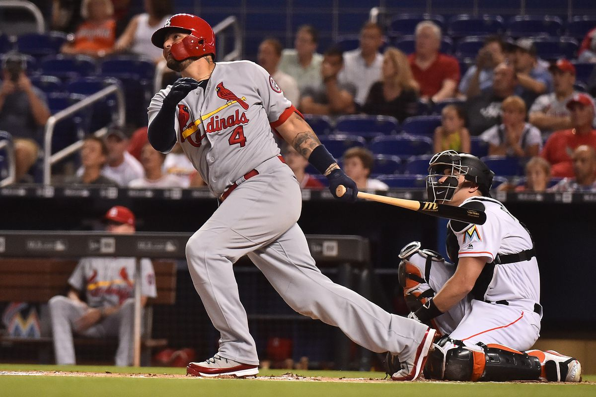 St  Louis Cardinals at Miami Marlins - A game thread for