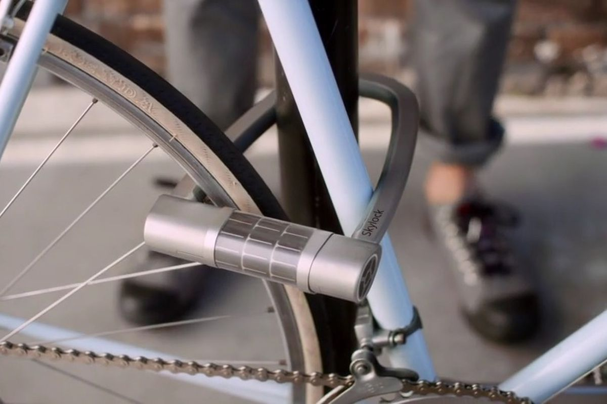 Skylock Is A Keyless Solar Powered Bike Lock That Just Launched A