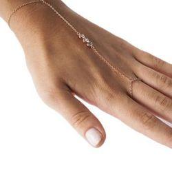 """Collette Hand Chain, <a href=""""http://www.shoptiques.com/products/collette-hand-chain"""">$99</a> at Design by Millo via Shoptiques"""