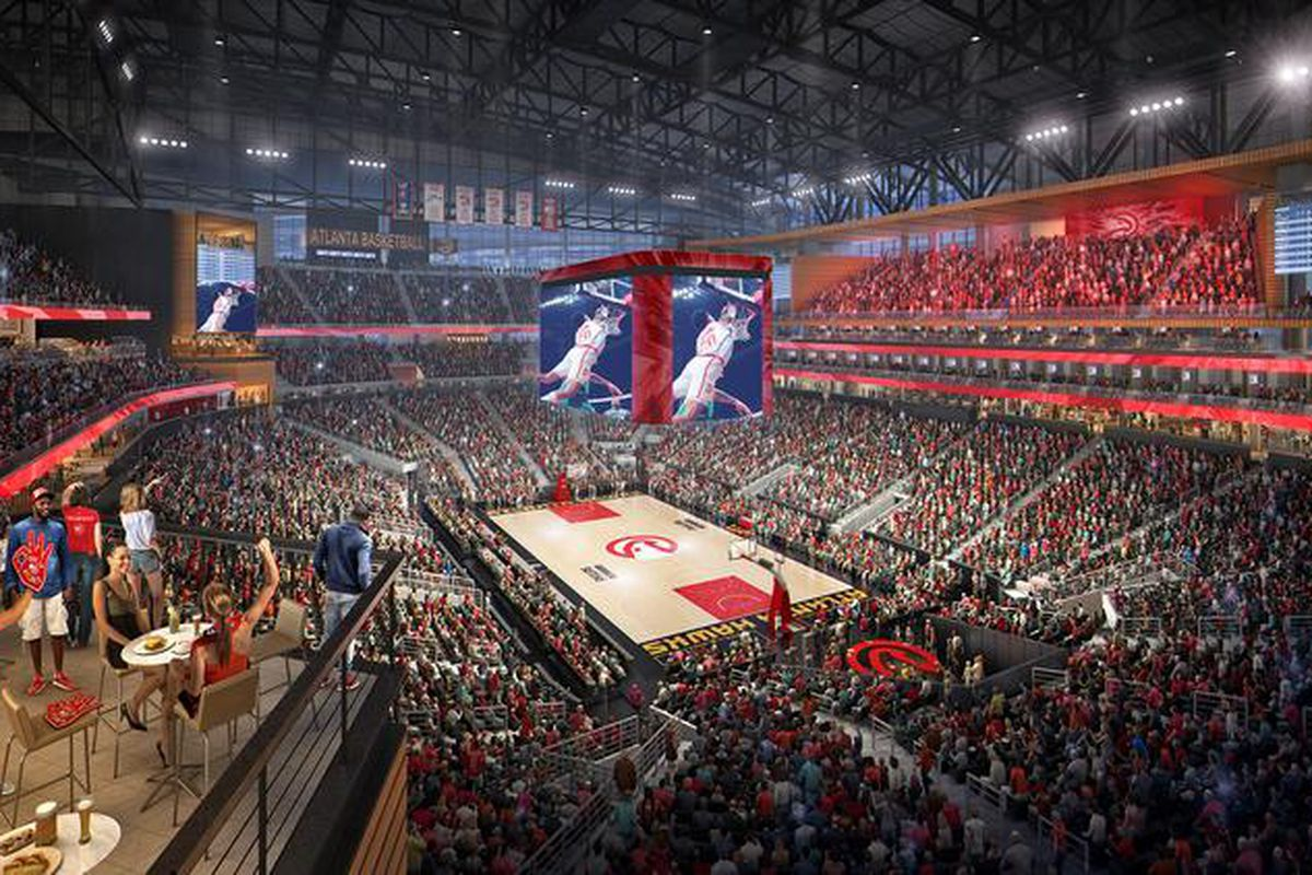 fc252774dca2 A look behind the curtain as Philips Arena renovations continue ...