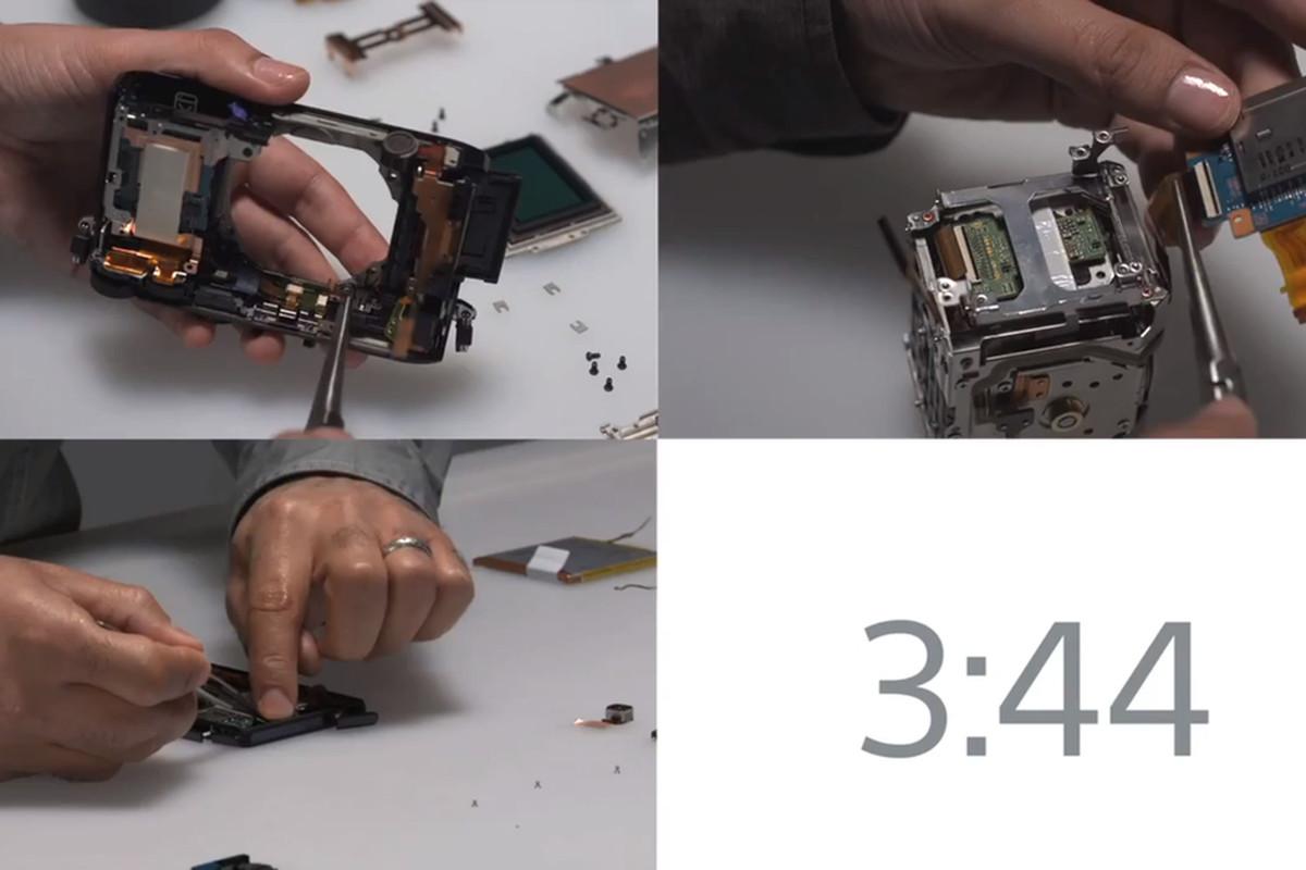 Sony assemble screenshot