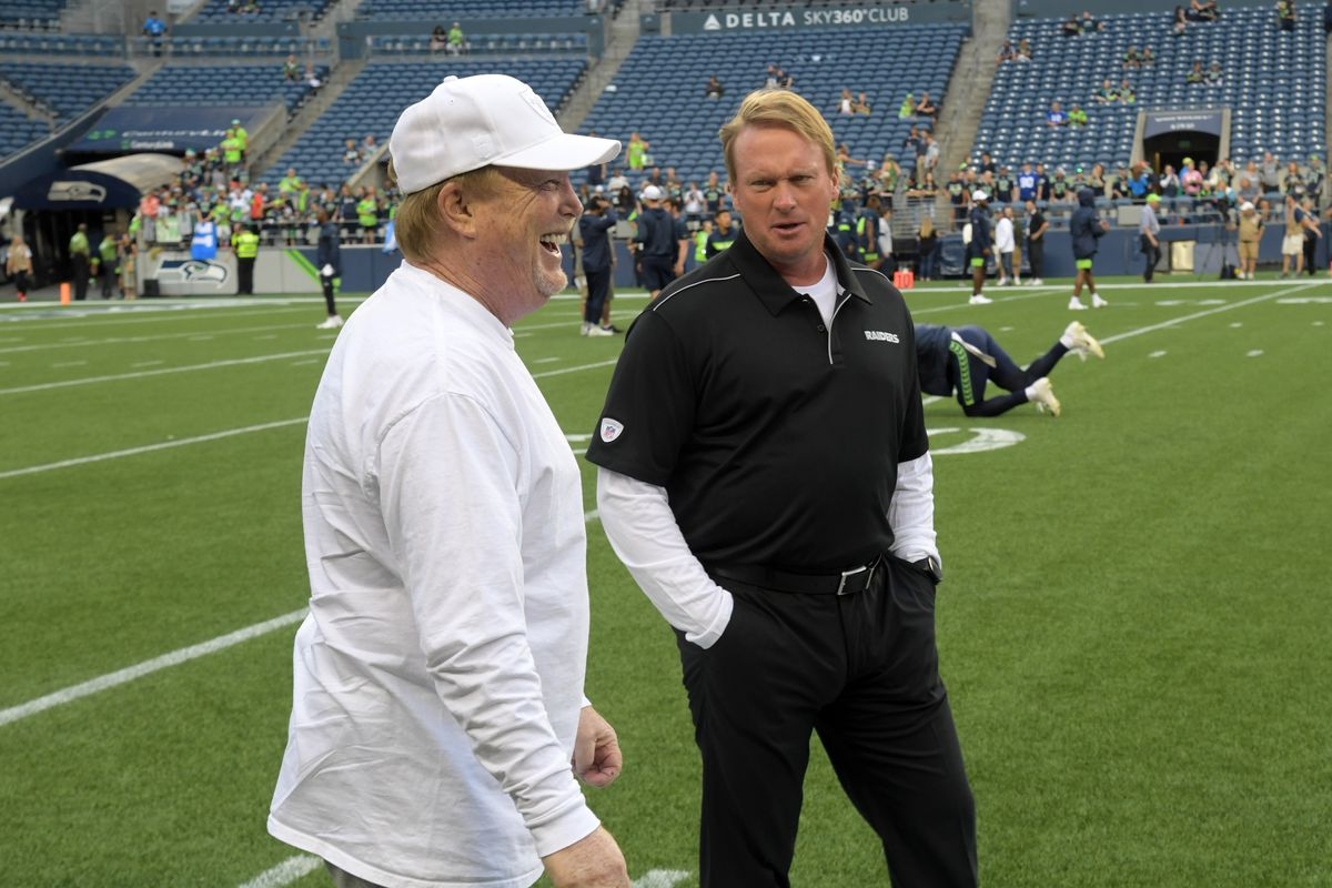 Raiders set out on long 'unprecedented' trip away from Oakland and if Jon Gruden wants to blame someone for '…