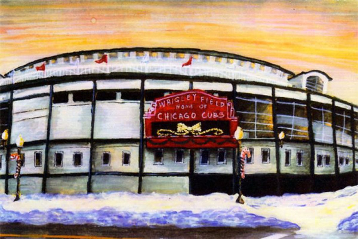 Twas The Night Before Cub Christmas - Bleed Cubbie Blue