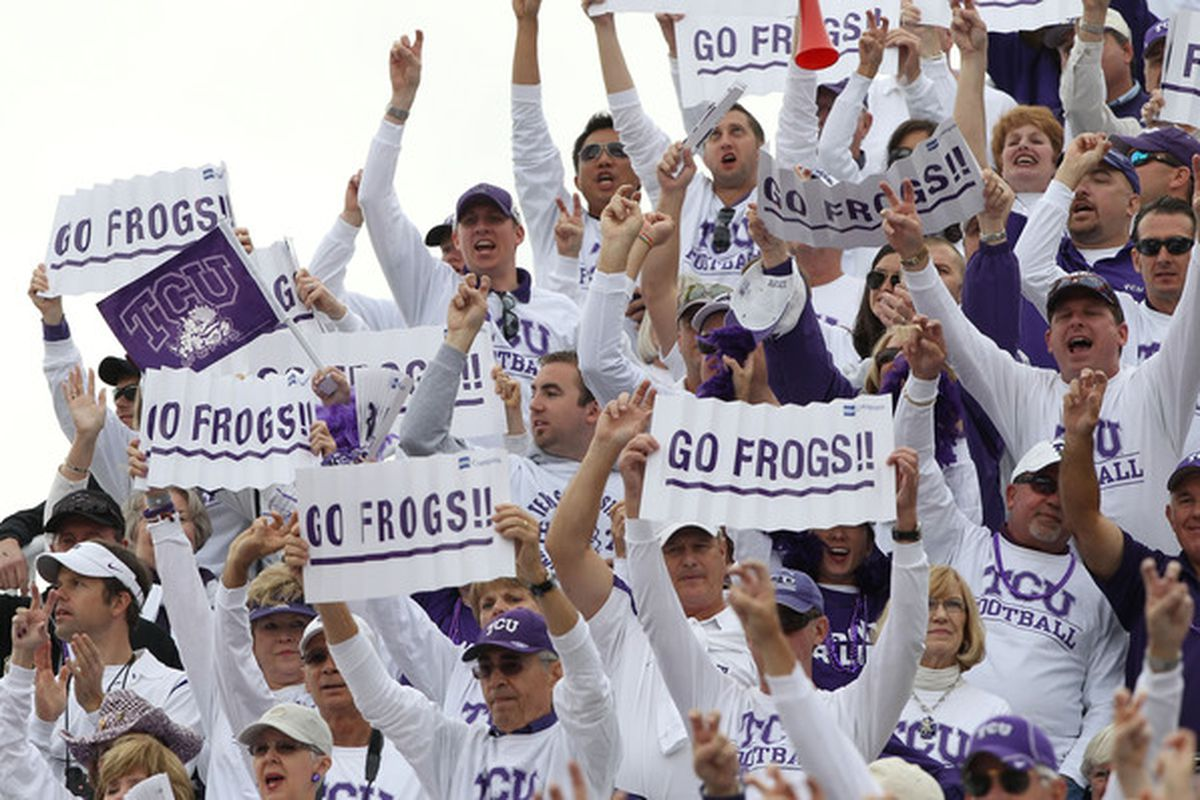 These fans will cheer for runningback Trevorris Johnson, beginning in 2013.  Johnson is TCU's 13th commit in the 2013 class.