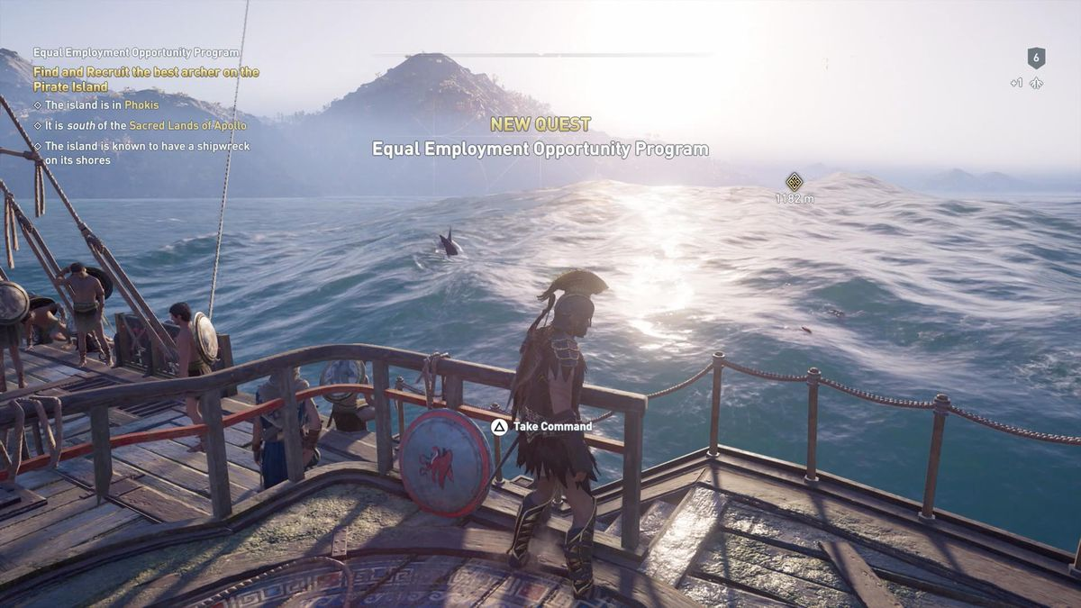 Assassin's Creed Odyssey - 'Equal Employment Opportunity Program' quest