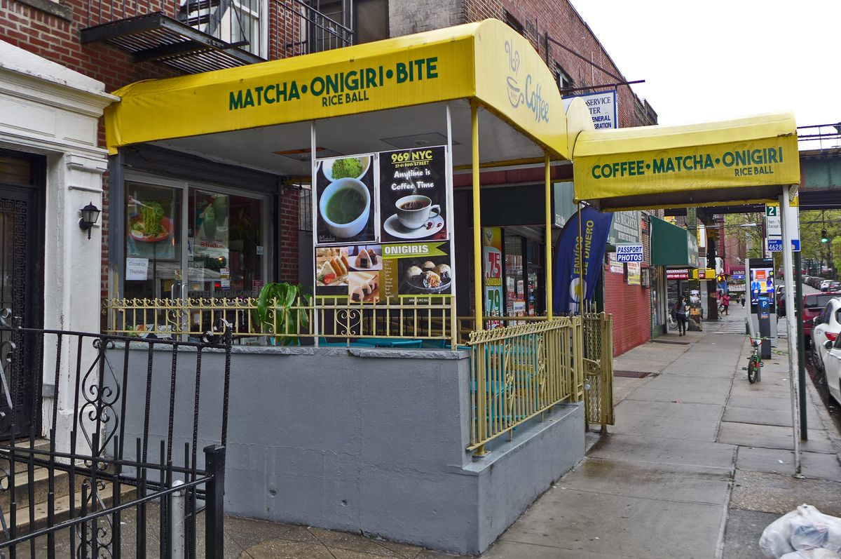Japanese matcha shop in Jackson Heights