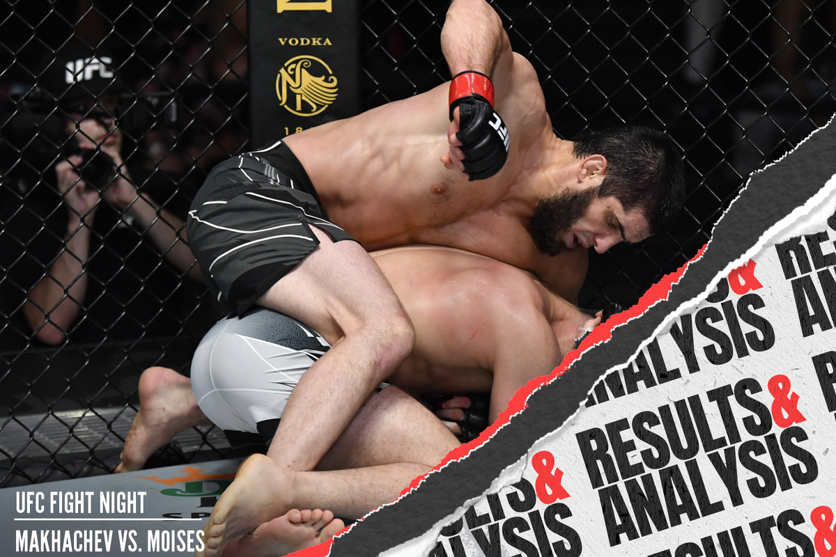 Islam Makhachev defeated Thiago Moises in the UFC Vegas 31 main event.