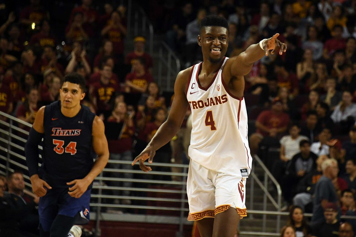 best loved 7350c a6293 USC Basketball: Is Chimezie Metu the Key for the Trojans ...