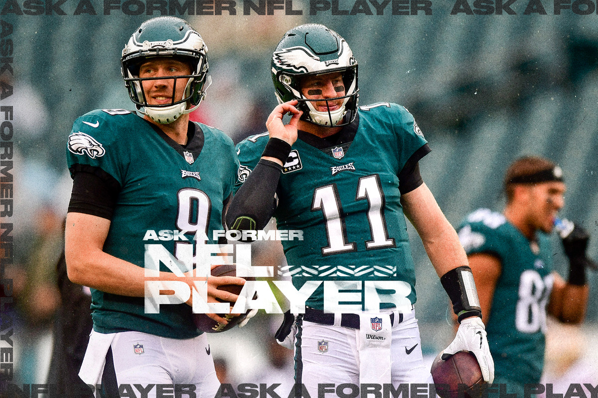new product 89d08 63ded Ask a former NFL player: Were the Eagles right to let Nick ...