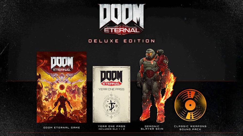 Components of the Doom Eternal digital edition