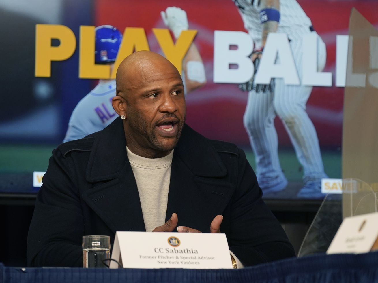 Former Cy Young winner CC Sabathia had some choice words for White Sox manager Tony La Russa.