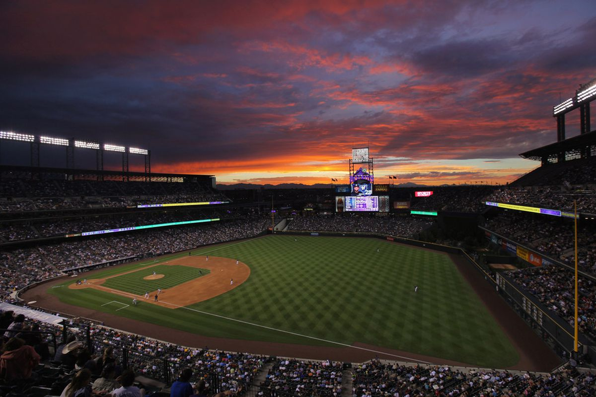 Coors Field: A nice place to watch the Brewers play terrible baseball.
