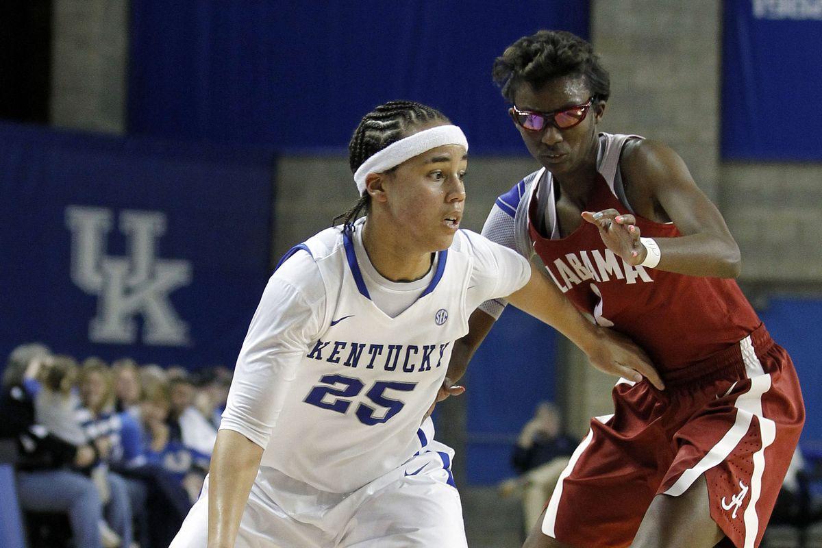 NCAA Womens Basketball: Alabama at Kentucky
