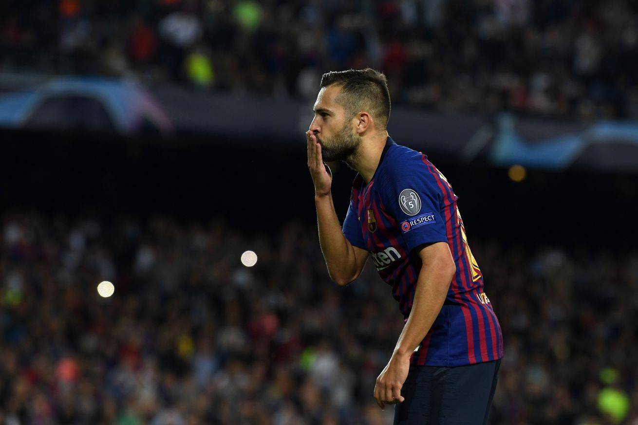 Barca have offered Alba a five-year deal, says Bartomeu