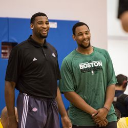 Andre Drummond and Jared Sullinger