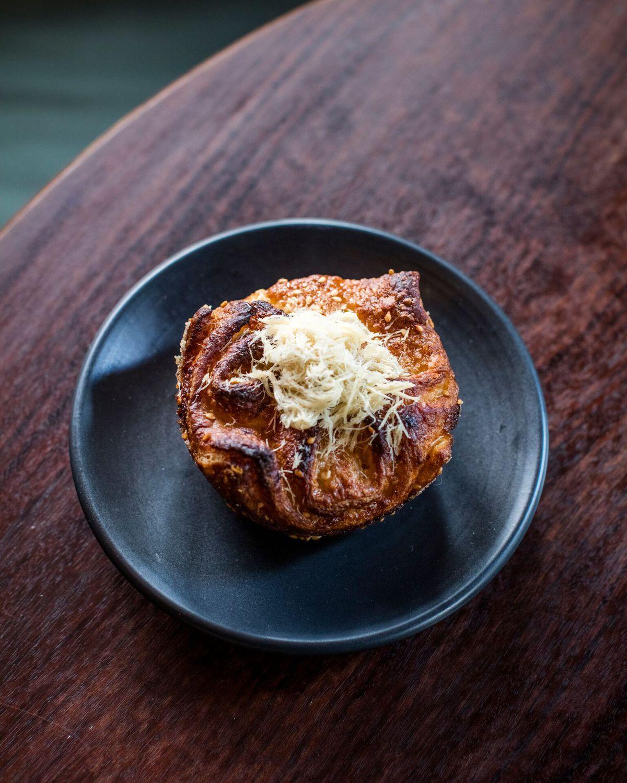 Sourdough croissant at Simon & the Whale