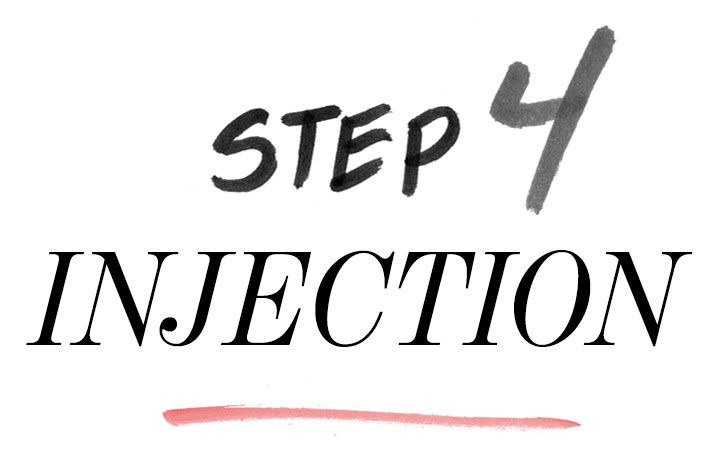 Step 4: Injection