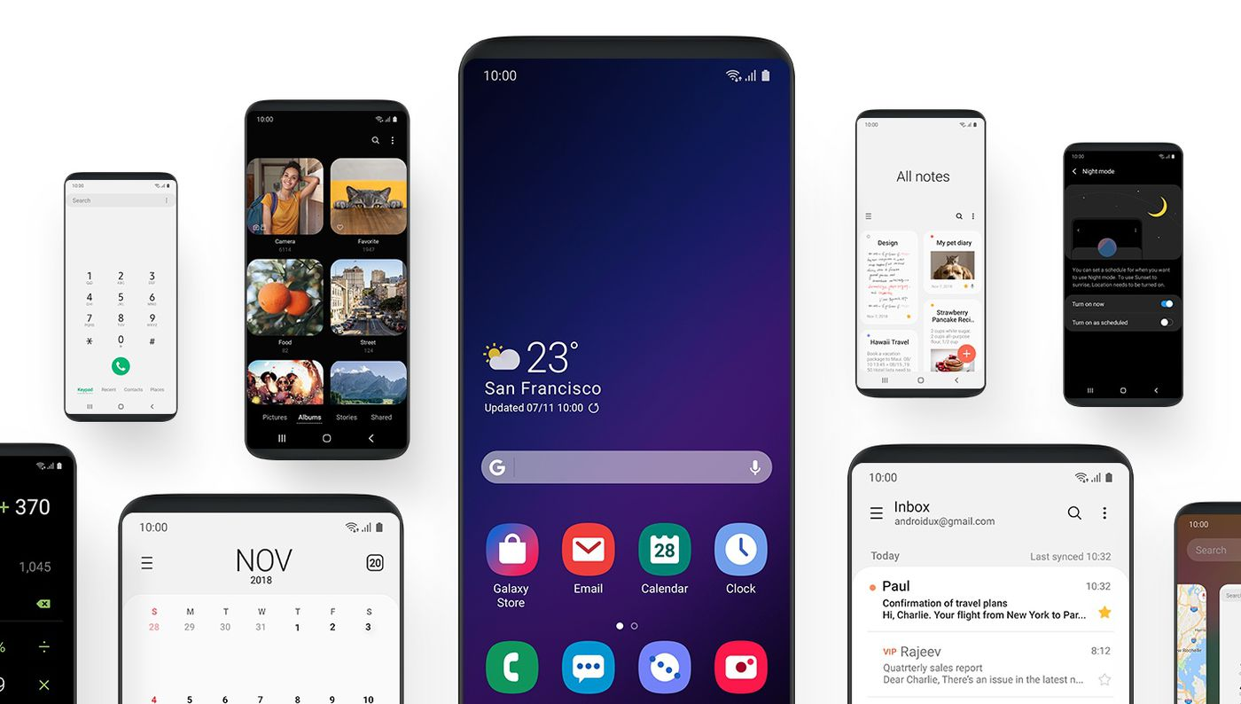 Samsung's new One UI software will make giant phones much easier to