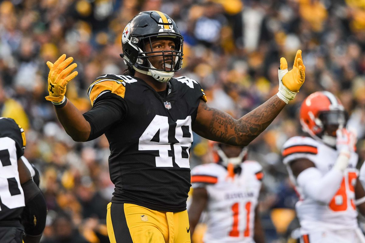 low priced 1a10f 7e566 Bud Dupree posts offseason workouts; Steelers fans hope it ...